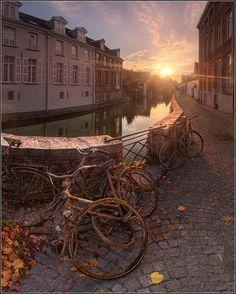 "Brugge, Belgium... Not least because I love ""In Bruges."""