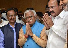 Khattar to be next Haryana Chief Minister Read: http://gismaark.com/NewsExpressViews.aspx?NEID=269 #GISMaark #news #Haryana