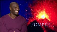 "Emily Browning and Adewale Akinnuoye-Agbaje  talk about roles in ""Pombeii"" on Fox 4 News!"