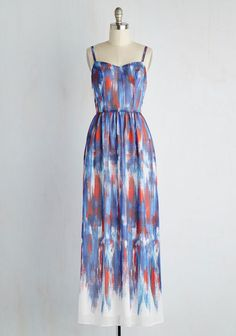 Modcloth Brushstroke to Conclusion maxi dress