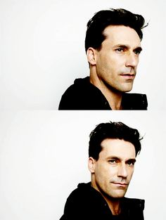 Jon Hamm.  seems like an amazingly interesting human being =D AND he's gorgeous!!!!