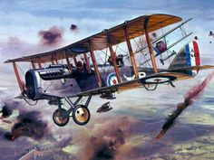 world war 1 biplane art | World War 1 biplane Wallpaper