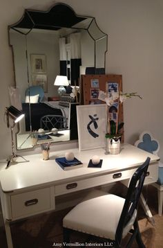 Hickory Chair Suzanne Kasler Amy Vermillion Interiors Charlotte Nc Campaign Desk