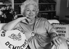 Life with Liz Carpenter - Porter Novelli Republic Of Texas, The Republic, Second Wave Feminism, Barbara Jordan, Betty Ford, Gloria Steinem, You Go Girl, Texas History, Equal Rights