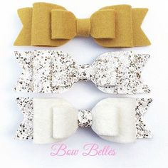 Perfect for autumn these gorgeous merino wool felt and textured glitter hair bows are made to match the latest seasonal colours available from @gemsbowbelles Fabridasher products shown:  mustard wool felt  desert king textured glitter  white wool felt Order your hair bows supplies from www.fabridasher.com #hairbowsupplies #woolfelt #merinofelt #bowsupplies #fabricshop #fabricsupplies #fabricsupplier #hairbows #diycrafts #handmade #handmadeuk #glitter #glitterfabric #glittersheets #felt…