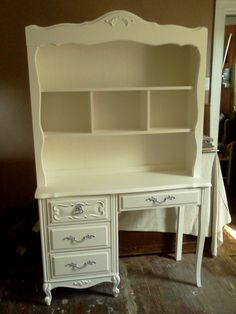 Reserved For Ashley O. - French Provincial Desk/hutch