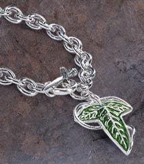 The Elven Brooch Charm Bracelet