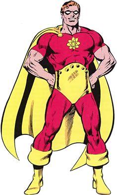 Hyperion - Marvel Comics - Squadron Supreme - Superman expy