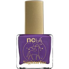 NCLA What's Your Sign? Sagittarius Lacquer (895 PHP) ❤ liked on Polyvore featuring beauty products, nail care, nail polish, nails, beauty, makeup, cosmetics, formaldehyde free nail polish, shiny nail polish and ncla nail lacquer