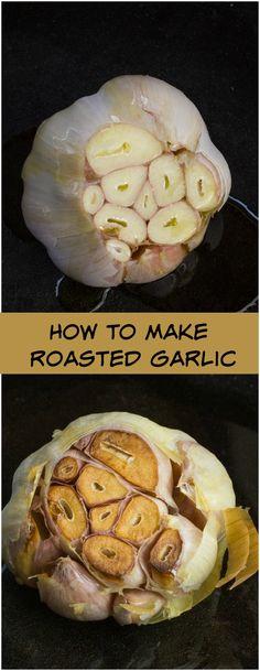 How to make roasted garlichttps://www.pinterest.com/heartbreakjj54/the-bitchin-kitchen/