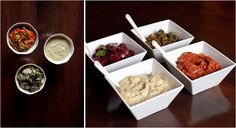 the kosher spoon : Middle Eastern Salads: Madbucha and Babaganoush