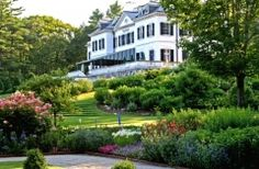 The Mount. Edith Wharton's home. Edith Wharton (1862–1937) wrote Ethan Frome and The Age of Innocence, among others. Technically haven't been, but I ended up poking around the grounds and gardens and peering into the windows in late November one year.