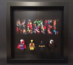 Lego marvel #superheroes avengers mini #figure display frame #black, View more on the LINK: http://www.zeppy.io/product/gb/2/262453988993/
