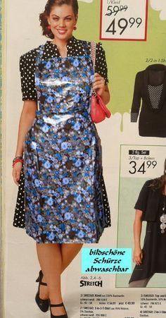 Pvc Apron, Apron Dress, Peplum Dress, 50 Fashion, Fashion Outfits, Plastic Aprons, Blouse Nylon, Nylons, Girly Captions