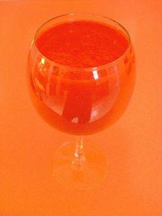 Papaya n red raspberry smoothie/juice