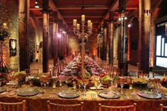 Medieval Table Setting Example