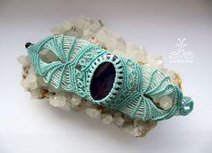 Macrame bracelet - Mermaid
