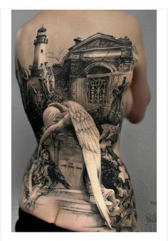 100 Awesome Back Tattoo Ideas - Tatoos - Tattoo-Ideen