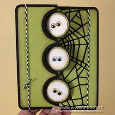 Halloween Triple Flip-its Card - Inky Paws