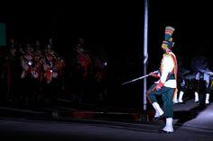 Band Master at Independence Day Parade - at #PMAKakul #Pakistan