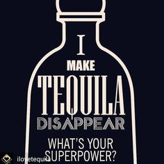 It's the weekend. Time to exercise the super powers.. What's your superpower?  #tequila #fridaynight #weekend #rave #edm #techno #trance #housemusic #deephouse #dj #hiphop  @Regranned from @ilovetequila -  #regrann