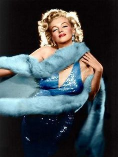 Marilyn Monroe in blue dress | marilynbluedress.jp…