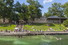 The 10 Best Places to Go with Kids in the Austin Area: Barton Springs Pool