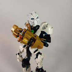 For fans of the Bionicle series produced by Lego. Lego Bionicle, Bionicle Heroes, Lego Memes, Lego Transformers, Lego Bots, Lego Custom Minifigures, Star Wars Painting, Lego Sculptures, Micro Lego