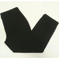 "Black Skinny Khakis Old Navy's ""Boyfriend"" cut. 97% cotton, 3% spandex. 26.5"" inseam. Never worn. Old Navy Pants Trousers"