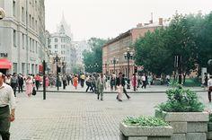 Arbat Street, Moscow, 1980s