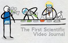 JoVE, Journal of Visualized Experiments és una videorevista peer review que es dedica a la publicació de la investigació científica en un format visual, a més del text, per ajudar als investigadors a superar dos dels grans reptes amb els quals s'enfronta la comunitat científica d'avui.