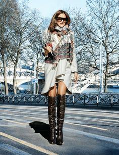 Style icon: Christine Centenera - La Mona se viste de seda