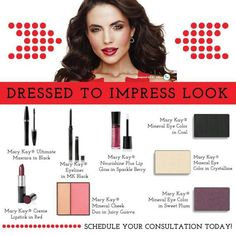 Dressed to Impress Mary Kay look. ORDER: www.marykay.com/vcarretta