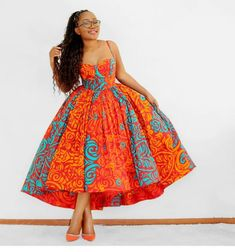 Latest African Fashion Dresses, African Dresses For Women, African Print Dresses, African Print Fashion, African Attire, Modern African Dresses, Ankara Fashion, Africa Fashion, African Prints