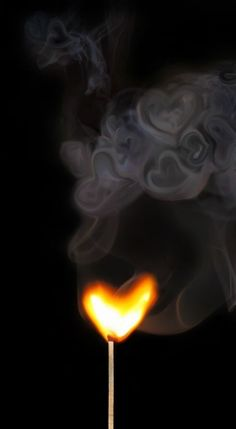 Free illustration Flame Heart Smoke Love Fire Free Image on I Love Heart, With All My Heart, Happy Heart, Heart In Nature, Heart Art, Smoke Art, Light My Fire, Fire Heart, Love Symbols
