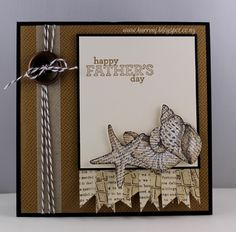 Dad's Day at the Seashore by karrenj - Cards and Paper Crafts at Splitcoaststampers