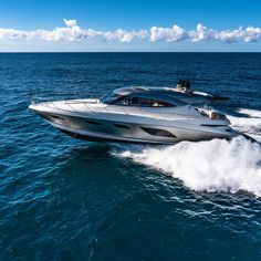 """The best """"Over-Seas"""" holiday is right here.  Riviera 6000 Sport Yacht platinum edition  Immerse yourself in everything that boating has to offer.  Contact our expert team today to discuss how we can help your leisure time experience the best they can be.  #rivieraboats  #luxurylifestyle  #holidayadventures  #travellocal  #boatsboatsboats  #overseas Sport Yacht, Motor Yachts, Boating, Seas, Luxury Lifestyle, Adventure, Holiday, Vacations, Ships"""