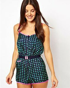 80597bc699fc Marc by Marc Jacobs Light Hearted Silk Cover Up Romper