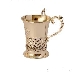 Silver Plated Netilat Yadayim Wash Cup