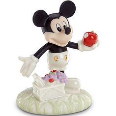 LENOX Figurines: Mickey & Friends - Disney's A Picnic with Mickey Figurine