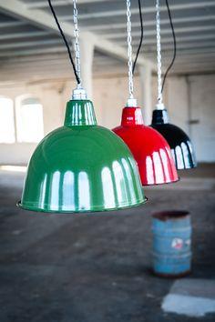 Fabriklampe für das Industrieflair Zuhause / industrial lamp, design for your home by 10kg Design via DaWanda.com