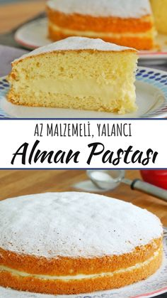 Practical German Cake Recipe (with video) - Yummy Recipes, Dessert recipes German Cakes Recipes, Baklava Cheesecake, Cookie Recipes, Dessert Recipes, Yummy Recipes, Delicious Desserts, Yummy Food, Sweet Cakes, Easy Cooking