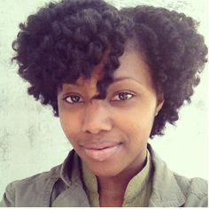 This twist-out is everything!