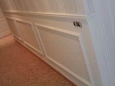 Moldura madera pared buscar con google salas de estar - Paredes de escayola ...