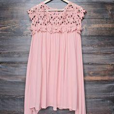 floral crochet lace cap sleeve summer dress (more colors) - shophearts - 1