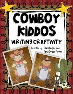 Yee Haw Buck-a-roos! It's time for some root-tootin' cowboy fun! This little writing craftivity is a great addition to any western-themed unit or j...