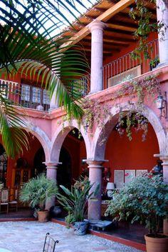 La Otra Cara de Mexico (Mask Museum) at the Casa de la Cuesta....a bed and breakfast, Mask Museum....