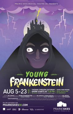 Young Frankenstein. Prairie Skies Musical Theatre Company.