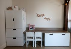 Delightful girls room white - pay a visit to our website for even more ideas! Play Corner, Kids Corner, Ikea Stuva, Fantasy Bedroom, White Rooms, Kidsroom, Ikea Hack, Girl Room, Sweet Home