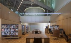 CFA overhangs triangular media library montauban in france